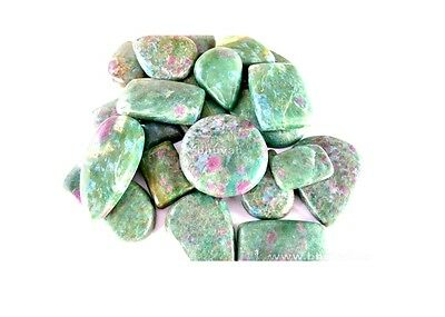 200ct Wholesale Lot Gemstone Natural Loose Mix Gem Ruby Fuchsite Cabochon