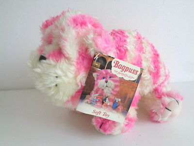 """BAGPUSS - 9"""" SOFT TOY by GOLDEN BEAR - NEW WITH TAG"""