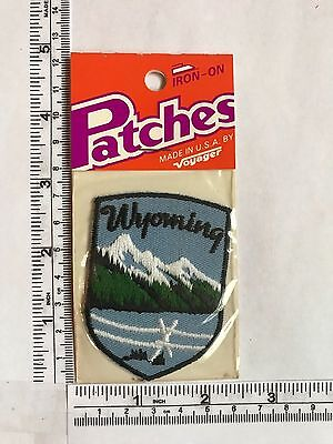 Vintage US State Wyoming Collectible Patch 2