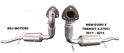 FORD TRANSIT 2.2TDCi 09/11-12/14 EXHAUST DPF DIESEL PARTICULATE FILTER Euro 5