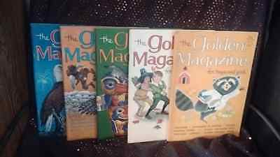THE GOLDEN MAGAZINE FOR BOYS AND GIRLS Lot of 5: 1960's (with paper dolls)