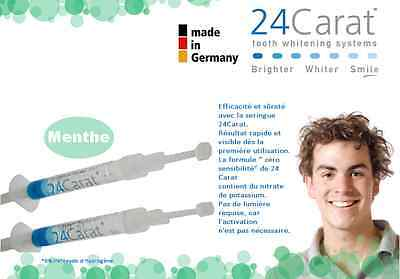 Blanchiment des dents - blanchiment dentaire - dents blanches - 24caratoffice
