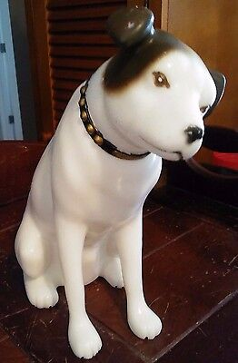 Vintage RCA Victor Nipper Dog Store Display Plastic 10-1/2""