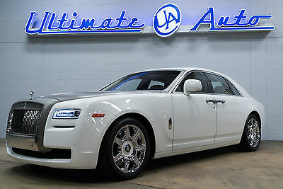 2010 Rolls-Royce Ghost Base Sedan 4-Door 2010 White!