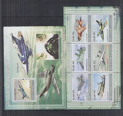 W94. Mozambique - MNH - Transport - Airplanes