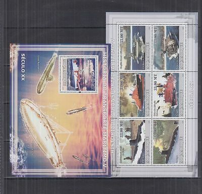 W94. Mozambique - MNH - Transport - Ships - Submarines