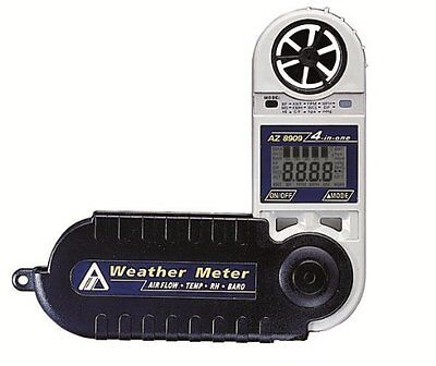 Anemometer, Barometric, Humidity Weather Meter / Pocket Weather Station CE