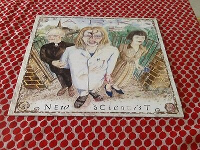 "Ark New Scientist 12"" 1989 Prog Rock with Promo Sheets Ex/EX"