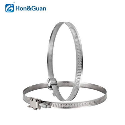 2Pcs Duct Fan/Hose Clips / Pipe Clamp/Flexible Fan Stainless Stee - 4/5/6/8 Inch