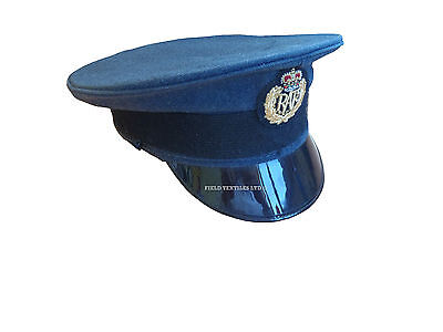 Royal Air Force Peaked Cap - Size 55 Cm - Grade 1 Condition - Rl1061