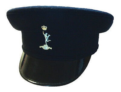 Royal Signals Peaked Cap With Badge - Grade 1 Condition - Size 56Cm - Rl1062