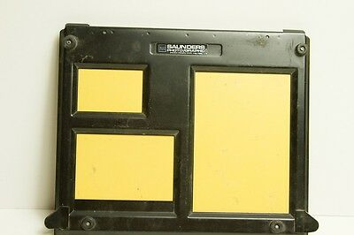 SAUNDERS Photo/Graphic PROFESSIONAL DARKROOM PHOTO ENLARGING EASEL