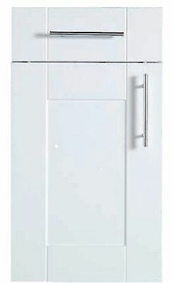 Kitchen Unit Cupboard Doors Gloss White Shaker panel style to fit Howdens Units