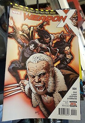 Weapon X #004 Nm 2017
