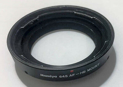 Mamiya 645 AF to HB Adapter Hasselblad V-series Lenses