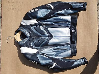 Men's Richa leather motorcycle jacket