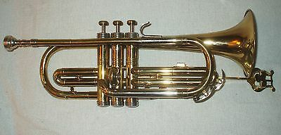 Conn Director  Shooting Star Trumpet  With Case Beginner Instrument & Bach 7C MP
