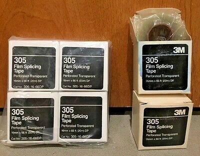 3M 305 - 35mm & 16mm Film Splicing - Tape 66 ft.