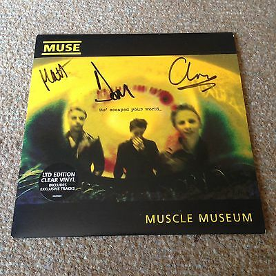 """Muse Muscle Museum 7"""" Vinyl *SIGNED*"""