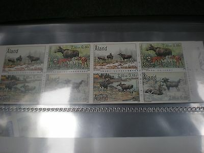Aland (Finland)  Mini Sheet Stamps Booklet ,  Mint