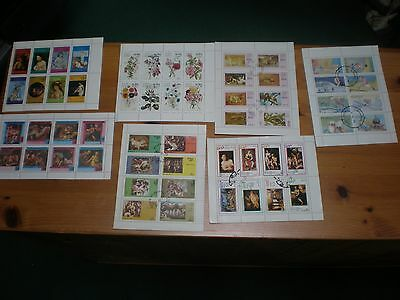 Cinderella Mini Sheets Stamps,7 Sets , Lot Number 1