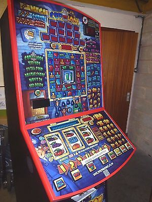 Cop The Loot Fruit Machine £100 Jackpot. Accepts New Pound Coin.