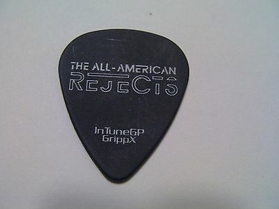 All American Rejects authentic guitar pick