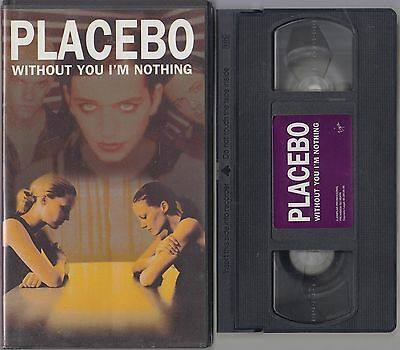 PLACEBO PROMO VHS WITHOUT YOU I'M NOTHING 1998 Virgin Spain