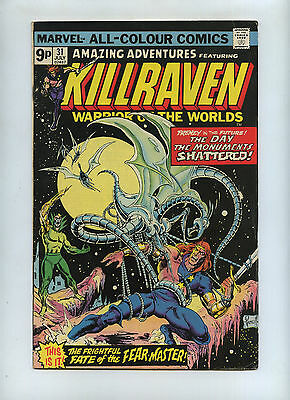 amazing adventures Kilraven  31 1976