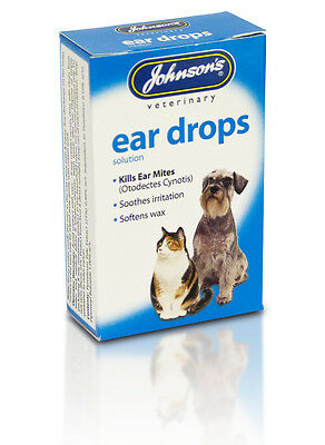 Johnsons Ear Drops for cats & dogs