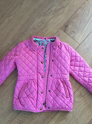 Girls Joules Coat Age 7 Years
