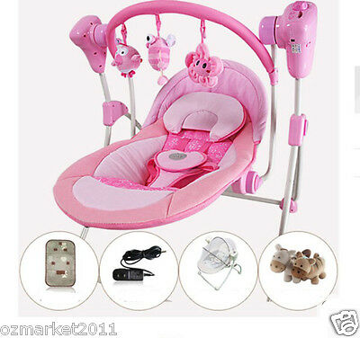 Fashion Security Comfortable Baby Swing Chair/Baby Electric Rocking Chair TY