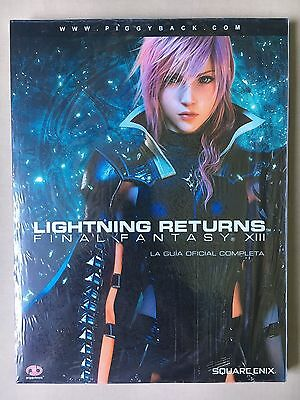 Lightning Returns. Final Fantasy XIII GUÍA PRECINTADA. Castellano.