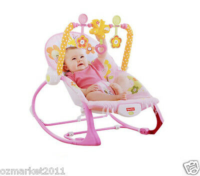 Fashion Pink Security Baby Swing Chair/Rocking Chair/Deck Chair