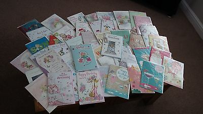 Job Lot of 58 Assorted Greetings Cards