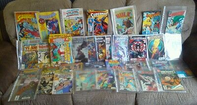 DC And Marvel Comic Collection, Rare Comics With Toys. 96 Comics And Books(BG73)