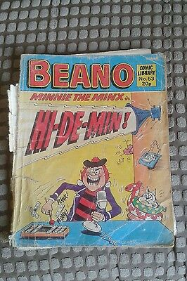 Beano Comic Library Issue Number 53.