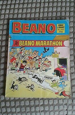 Beano Comic Library Issue Number 40.