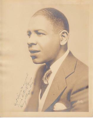 Red Allen Jazz Photograph Inscribed to Louis Cottrell Junior New Orleans Henry