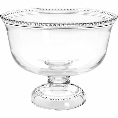 Anchor Hocking Trifle Bowl - Footed - Glass - Isabella