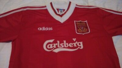 Liverpool home jersey 1995 in mint condition