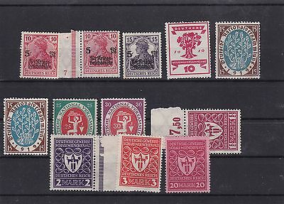 germany weimar republic mnh  stamps ref 8108