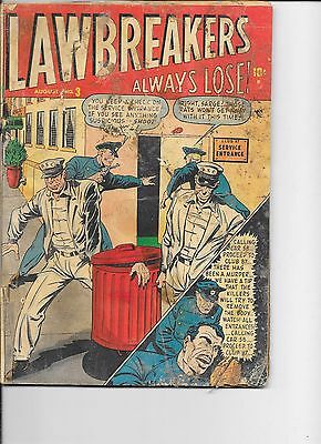 Lawbreakers Always Lose  #3  Marvel  1948