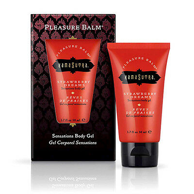 Coadiuvante Gel Lubrificante Per Il Corpo E Intimo Kamasutra Pleasure Strawberry