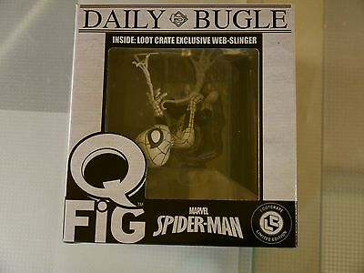 Marvel Spider-man Loot Crate Exclusive Web Slinger Daily Bugle Q FiG