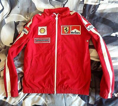 Scuderia Ferrari Marlboro Team Early 2000s F1 Crew Racing Pit Jacket Coat Size M