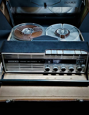 UHER 4000 Report L Portable Reel to Reel Tape Recorder/Player Vintage Germany