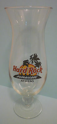 Hard Rock Cafe ATHENS - GREECE Brand New HURRICANE GLASS in HRC BOX!!