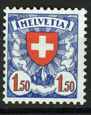 Switzerland, 1933 Coat of Arms, 1Fr.50 C. , MNH