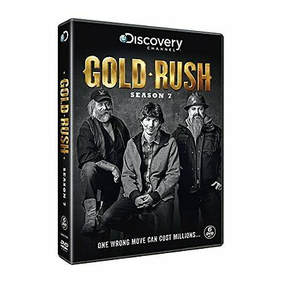 brand new gold rush season 7 dvd 2017 6 disc set preorder r4 aud picclick au. Black Bedroom Furniture Sets. Home Design Ideas